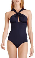 Vilebrequin Farce Twist-Front One-Piece Swimsuit