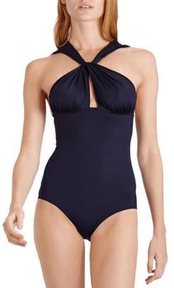 Vilebrequin Farce Twist-Front One-Piece Swimsuit
