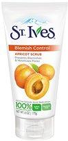 St. Ives Blemish Control Face Scrub, Apricot 6 oz, 4 Count