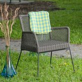 Matrix Industrial Chic Indoor/ Outdoor Double-braid Polyester Regatta Rope Square Weave Arm Lounge Chair