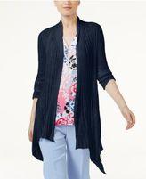 INC International Concepts Asymmetrical Cardigan, Created for Macy's