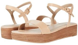 ABLE Larissa Platform Sandal (Veg Tan) Women's Shoes