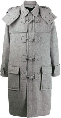 Valentino Hooded Midi Duffle Coat