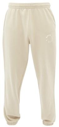 7 Days Active - Monday Logo-print Cotton-blend Track Pants - Beige