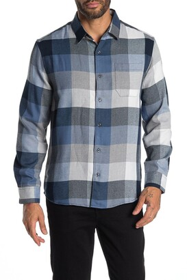 7 Diamonds Old Town Road Plaid Flannel Shirt