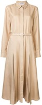 Gabriela Hearst belted shirt dress