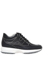 Hogan 60mm Interactive Leather Sneakers