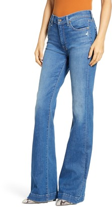 7 For All Mankind Dojo High Waist Flare Jeans