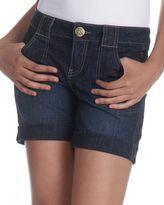 Dkny jeans cuffed denim shorts