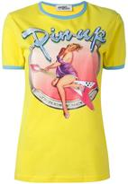 Jeremy Scott pin-up print T-shirt