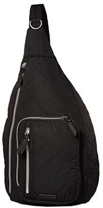 Vera Bradley Performance Twill Sling Backpack (Black) Backpack Bags