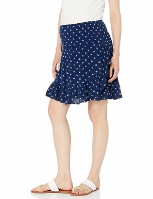 Ripe Maternity Women's Maternity Bobbie Ruffle Skirt