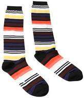 Missoni Gm00cmd4934 0001 Black/orange Boot Socks.