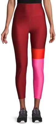 Nanette Lepore Colorblock High-Waist Leggings
