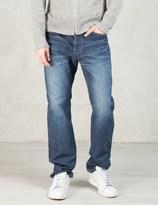 Spellbound Indigo Mid Tone Old Used 13.5oz 5 pockets Authentic Standard fit Selvedge Denim Jeans
