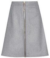 Acne Studios Prisca Wool And Cashmere-blend Miniskirt