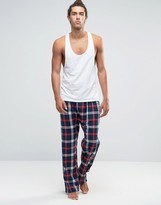 French Connection Lounge Pants In Check