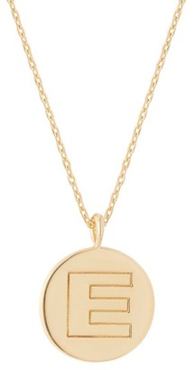 Theodora Warre - E-charm Gold-plated Necklace - Womens - Gold