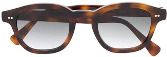 Epos Square Frame Tortoise-Shell Sunglasses