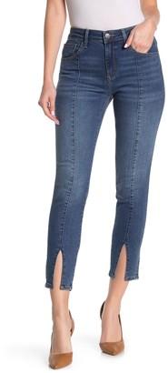 Mavi Jeans Tess Slit Crop Skinny Jeans