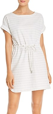 Tommy Bahama Amira Striped Drawstring Mini Dress
