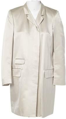 DKNY Beige Cotton Coats