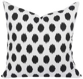 The Well Appointed House Domino Black Decorative Pillow