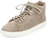 Rag & Bone Kent Suede High-Top Sneaker, Warm Gray