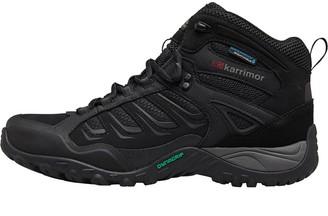 Karrimor Mens Helix Mid Weathertite Hiking Boots Black