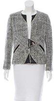 Chanel Mohair Turnlock Jacket