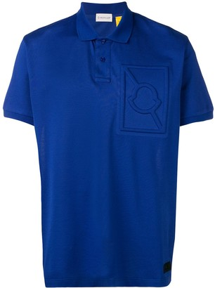 Moncler Embossed Logo Polo Shirt