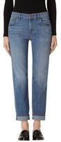 J Brand Women's Johnny Boyfriend Jeans