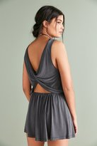 Silence & Noise Silence + Noise Two Twisted Romper