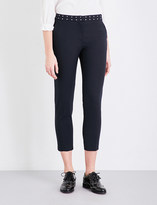 Claudie Pierlot Pacific cropped woven trousers