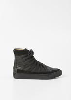 Damir Doma black falco high top sneaker