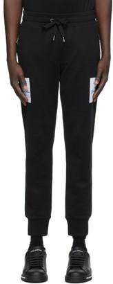 Dolce & Gabbana Black DNA Lounge Pants