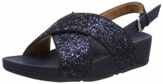 FitFlop Women's Lulu Sandal - Glitter Open Toe