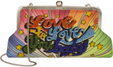 Sarah's Bag Love To Love Rainbow Clutch