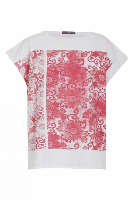 High Craftwork Stamp Print T Shirt - Small