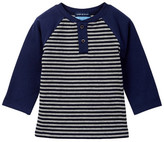 Andy & Evan Stripe Henley Top (Baby Boys)