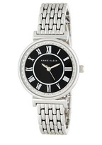 Anne Klein Women's Crystal Accented Bracelet Watch