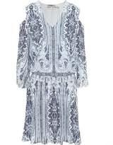 Alice + Olivia Jolene Cold Shoulder Mini Dress