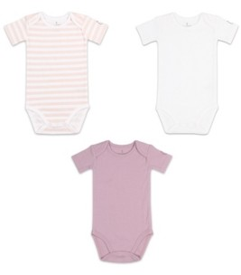 The Peanut Shell The Baby Girl Bodysuit, Pack of 3