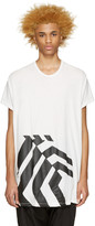 Niløs White Graphic T-Shirt