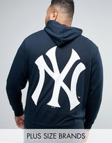 Majestic Plus New York Yankees Hoodie With Back Print