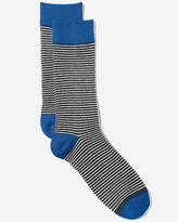 Eddie Bauer Men's Crew Socks - Stripe