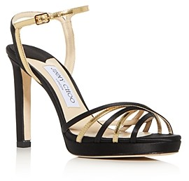Jimmy Choo Women's Lilah 100 High-Heel Platform Sandals