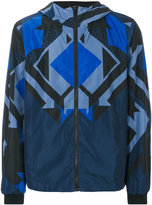 Versace geometric light-weight jacket