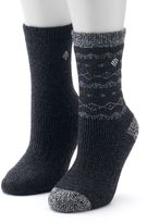 Columbia Women's 2-pk. Wool Striped Crew Socks