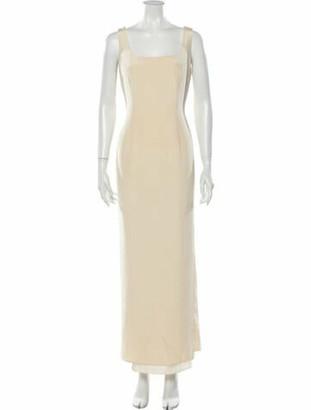 Naeem Khan Silk Long Dress